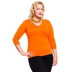 фото Кофта Mondigo XL 052. Цвет: оранжевый. Размер одежды: 48