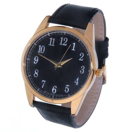 Купить Часы наручные Mitya Veselkov «Цифры и насечки» Gold