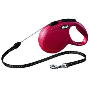 Купить Поводок-рулетка Flexi New Classic S. Цвет: красный