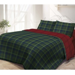 фото Комплект постельного белья Гармония «Шотландия». Евро. Размер наволочки: 50х70 см — 2 шт
