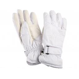 Купить Перчатки горнолыжные GLANCE Crystal (2013-14). Цвет: белый