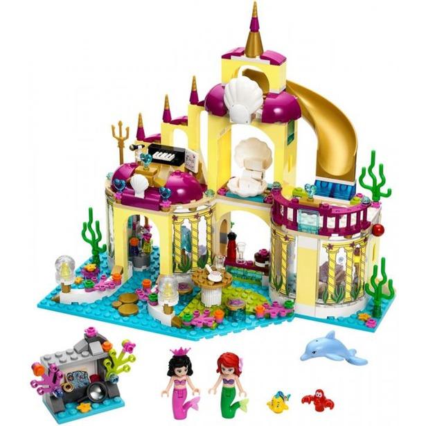фото Конструктор LEGO Подводный дворец Ариэль