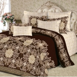 фото Комплект постельного белья Slava Zaitsev «Тет-а-Тет». Семейный