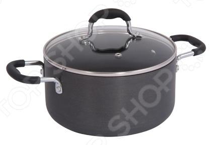 Кастрюля Regent 93-W-HADPКастрюли<br>Кастрюля Regent 93-W-HADP большая посуда, в которой можно сварить первые блюда, а так же потушить овощи, мясо и рыбу. Часто используется для заготовок на зиму: повидла, варенья и прочего. Кастрюля с классическим темным антипригарным покрытием, которое позволит готовить пищу на протяжении долгих лет. Имеет удобные ручки. Внешняя часть имеет износостойкое покрытие.<br>