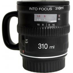 фото Кружка FiftyTwoWays Into Focus. Цвет: черный
