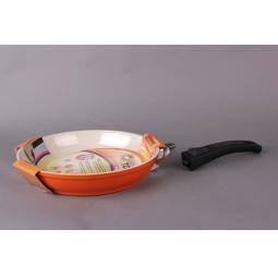 Купить Сковорода со съемной ручкой GreenTop Xpride. Цвет: оранжевый