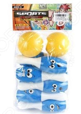 Набор для игры в боулинг Shantou Gepai 8816ADСпортивные игры<br>Набор для игры в боулинг Shantou Gepai 8816AD прекрасно подойдет для активных игр как дома, так и на открытом воздухе. Основная идея игры состоит в том, что ребенок должен, находясь на установленном расстоянии, сбить шаром, расставленные в определенном порядке, кегли. Подобные игры способствуют развитию у детей ловкости, меткости и координации движении. Предназначено для детей в возрасте от 4-х лет.<br>