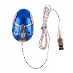 фото Мышь компактная Kreolz MC820s. Цвет мыши: серебристый, синий