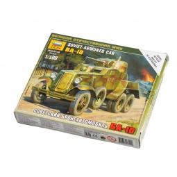 Купить Сборная модель Звезда «Советский бронеавтомобиль БА-10»