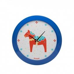 фото Часы настенные Mitya Veselkov «Скандинавская лошадка»