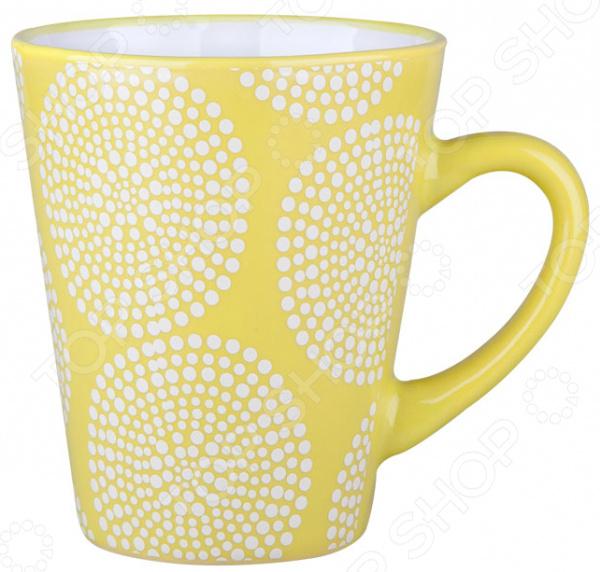 Кружка Miolla «Узор 8»Кружки. Чашки<br>Начните утро с любимого напитка! Кружка Miolla Узор 8 изготовлена из высококачественной керамики и дополнена дизайнерским рисунком. Посуда из этого материала позволяет максимально сохранить полезные свойства и вкусовые качества воды. Заварите крепкий, ароматный чай или кофе в представленной модели, и вы получите заряд бодрости, позитива и энергии на весь день! Классическая форма и универсальная цветовая гамма изделия позволят наслаждаться любимым напитком в атмосфере еще большей гармонии и эмоциональной наполненности.  Преимущества кружки Miolla Узор 8 :  Изготовлена из керамики, что позволяет сохранить полезные свойства и вкусовые качества воды.  Украшена интересным рисунком.  Ее можно мыть в посудомоечной машине, что облегчает уход.  Поставляется в подарочной упаковке. Кружка Miolla Узор 8 является прекрасным подарком для ваших любимых, родных и близких.<br>