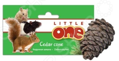 Лакомство для грызунов Little One «Кедровая шишка»