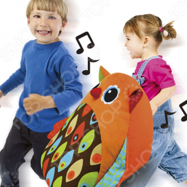 Мягкая игрушка развивающая HAP-P-KID «Музыкальная сова»
