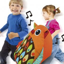 фото Мягкая игрушка развивающая HAP-P-KID «Музыкальная сова»