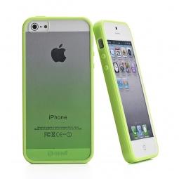фото Чехол и пленка на экран Muvit Sunglasses для iPhone 5. Цвет: зеленый