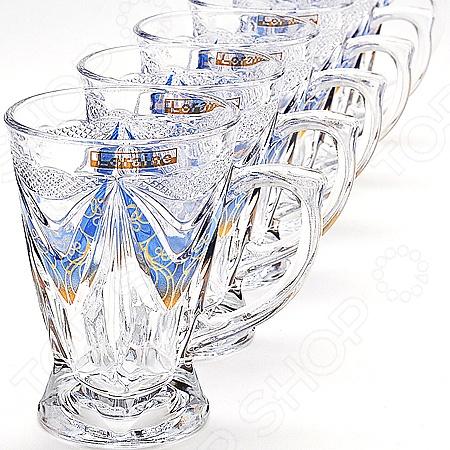 Набор бокалов Loraine «Нежность» giftman набор бокалов для молодоженов нежность 21 см авторская работа белый