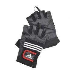 фото Перчатки тяжелоатлетические Adidas. Размер: S/M