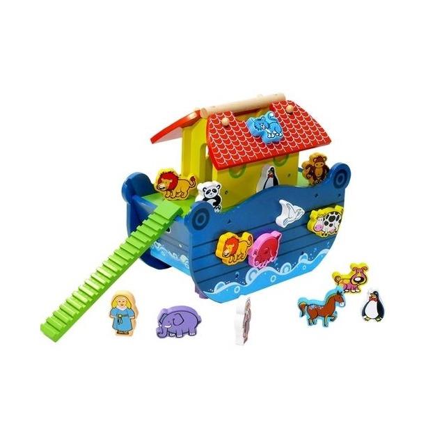 фото Сортер деревянный Toys Lab «Ноев ковчег»