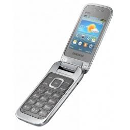 фото Мобильный телефон Samsung GT-C3592. Цвет: серебристый, титан