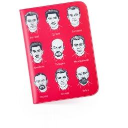 фото Обложка для паспорта Студия Артемия Лебедева «Документикус». Цвет: красный