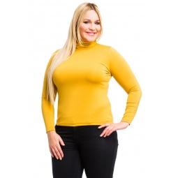 фото Водолазка Mondigo XL 204. Цвет: горчичный. Размер одежды: 48