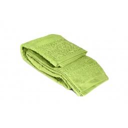 фото Полотенце Tete-a-Tete махровое Т-МП-6459. Размер: 90х150 см. Цвет: зеленый