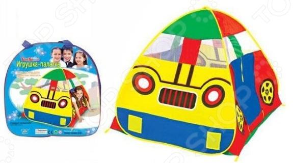 Палатка игровая Shantou Gepai «Машина» 8101Игровые домики. Горки. Качели<br>Палатка игровая Shantou Gepai Машина отличный подарок для детей от двух лет. Здесь ребенок может играть самостоятельно или с друзьями, а также хранить свои игрушки. Кроме того, дети постарше могут использовать домик в качестве декорации для домашних спектаклей. Палатка окажется полезной для развития ребенка, ведь это его собственность , за которую он несет ответственность. С ее помощью воспитывается хозяйственность, бережное отношение к вещам, уважение к собственному жилью. Игровая палатка займет достойное место как в квартире, так и в любом образовательном учреждении для детей дошкольного возраста.<br>