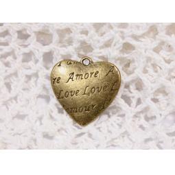 фото Набор подвесок металлических ScrapBerry's Сердце