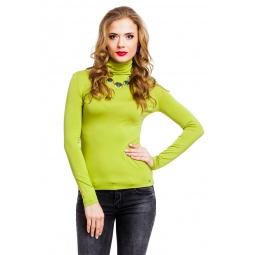фото Водолазка Mondigo 046. Цвет: зеленый. Размер одежды: 42