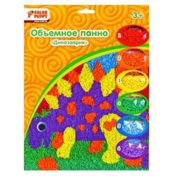 фото Набор для детского творчества Color Puppy «Объемное панно. Динозаврик»
