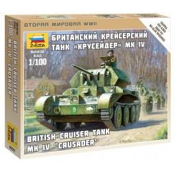 фото Сборная модель танка Звезда «Крусейдер» MK IV