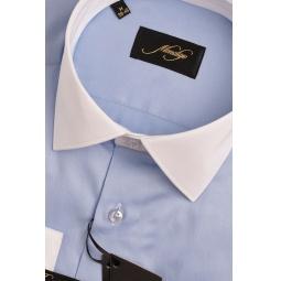 фото Рубашка Mondigo 501067. Цвет: голубой. Размер одежды: M