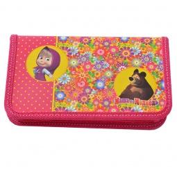 Купить Пенал Маша и Медведь «Цветочная поляна» 22111