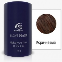 фото Реконструктор волос EcoSapiens I LOVE HAIR. Цвет: коричневый