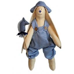 Купить Набор для изготовления текстильной игрушки Артмикс «Зайка Илюша»