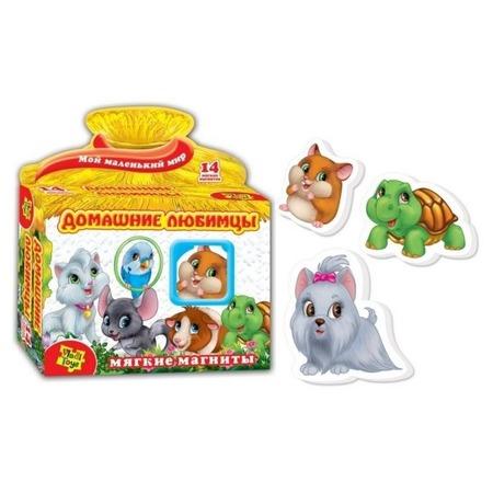 Купить Игра развивающая на магнитах Vladi Toys «Домашние любимцы» 291040