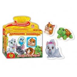 фото Игра развивающая на магнитах Vladi Toys «Домашние любимцы» 291040