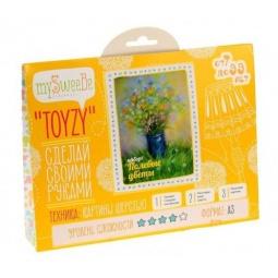 Купить Набор для создания картины из шерсти mySweeBe «Полевые цветы»