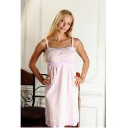 Купить Сорочка для беременных Nuova Vita 102.3. Цвет: розовый