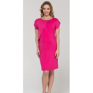 Купить Платье для беременных Nuova Vita 2128.2. Цвет: малиновый