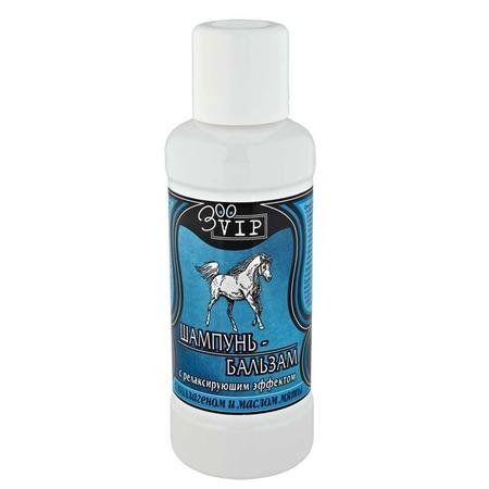 Купить Шампунь-бальзам для лошадей ZooVIP с релаксирующим эффектом с коллагеном и маслом мяты