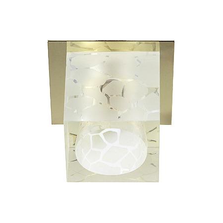 Купить Светильник декоративный потолочный Эра DK40 GD/WH