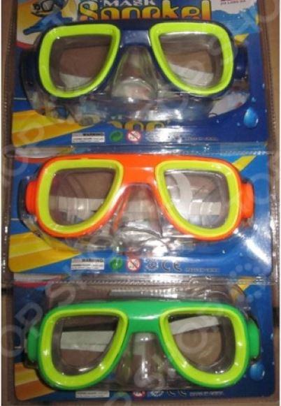 Маска для ныряния Intex TX68671. В ассортименте intex маска для плавания бегемот лягушка intex в ассорт