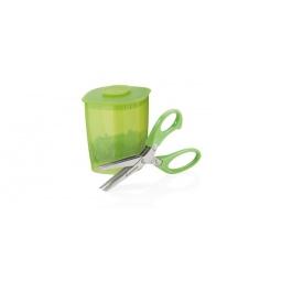 фото Ножницы для нарезки зелени с емкостью Tescoma Presto