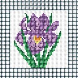 фото Набор для создания мозаики Белоснежка «Фиолетовый ирис»