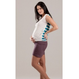 Купить Шорты для беременных Nuova Vita 5722.04. Цвет: мокко