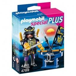 фото Набор фигурок к игровому конструктору Playmobil «Дополнение: Самурай с арсеналом»