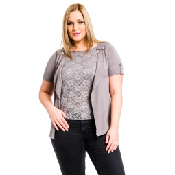 фото Жакет Mondigo XL 9775. Цвет: серый. Размер одежды: 48