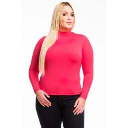 фото Водолазка Mondigo XL 264. Цвет: ярко-розовый. Размер одежды: 48