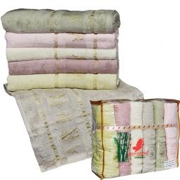 фото Комплект из 6-ти махровых полотенец Mariposa Gold Mix. Размер полотенца: 70х140 см
